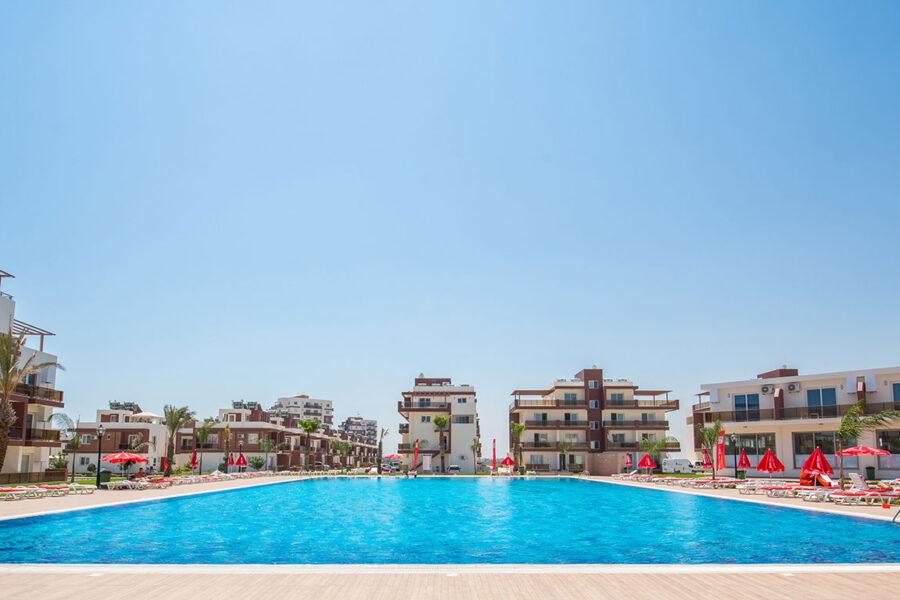 Квартира студио рядом с лучшим пляжем Северного Кипра