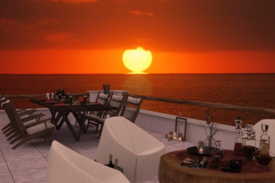 Вилла класса люкс на берегу моря