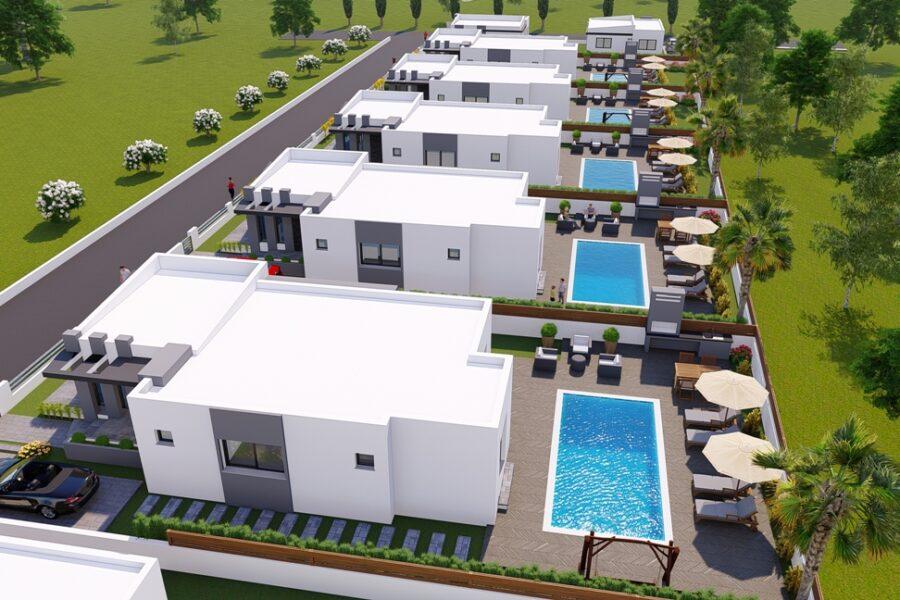 Современный дом с участком