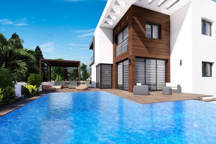Приватная вилла с бассейном и садом