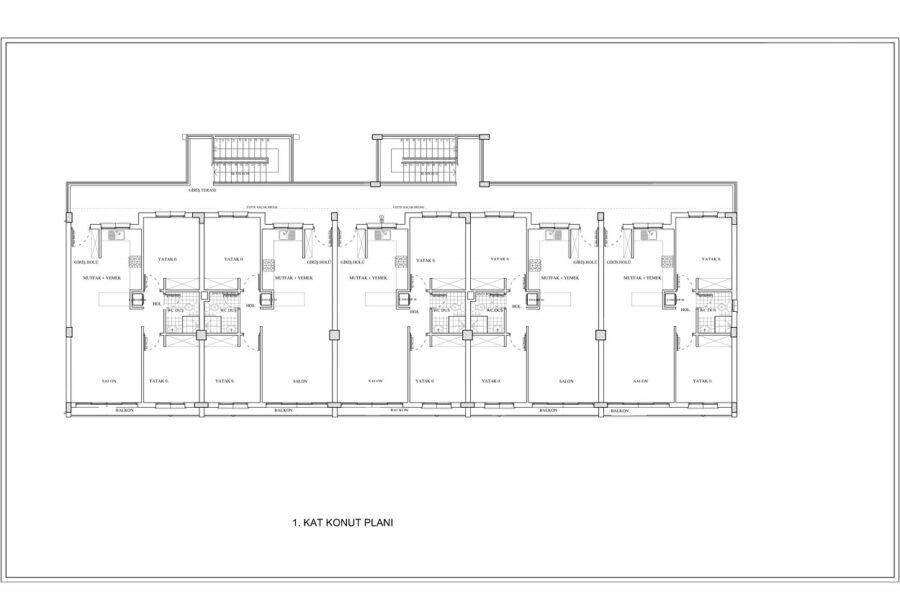 3-комнатные апартаменты в районе Лапта
